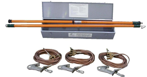 High Voltage Grounding Stick : Stick ground type wi a gdr teknik