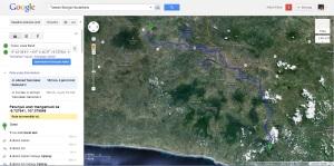 Jalur Bogor -  Taman Bunga