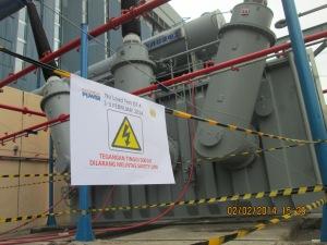 No Load Test Trafo 470MVA/500 kV, GT#4, PLTU Suralaya
