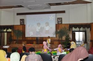 Pelepesan TK B Kreativa Bogor, 6 Jun 2015