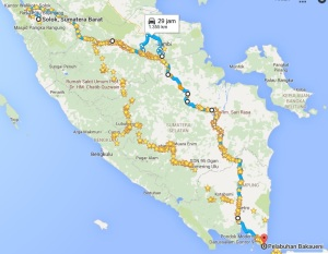 Jalur lintas Timur Solok - Lampung